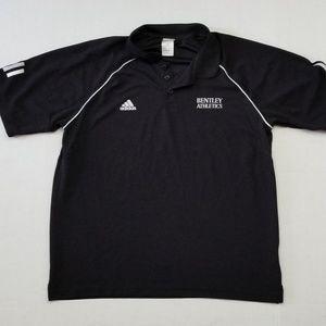 Adidas Men Black Polo Shirt